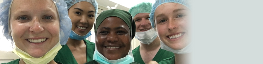 UMass Boston student Victoria Woytowicz spent time in a delivery room in Tanzania through her summer fellowship.